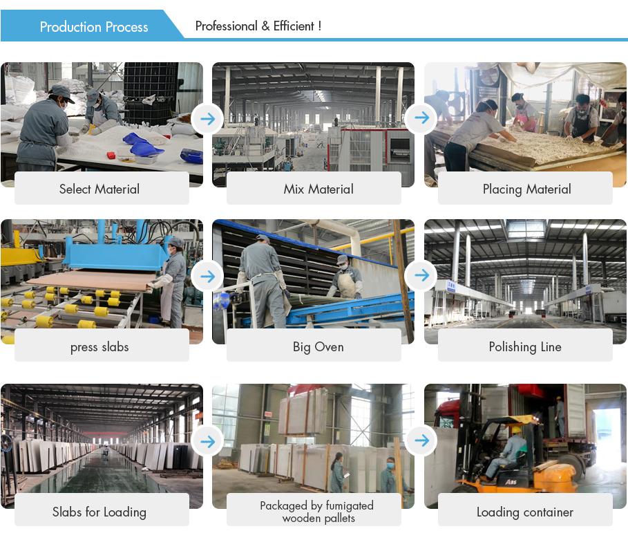 Factory Supplier Quartz Solid Surface