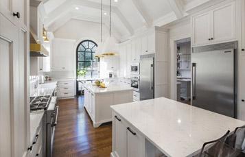 Quartz Stone Slab For Kitchen