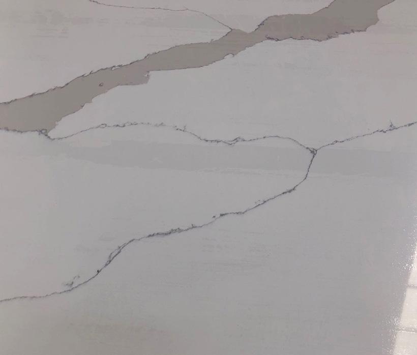 Factory White Calacatta Glass Stone