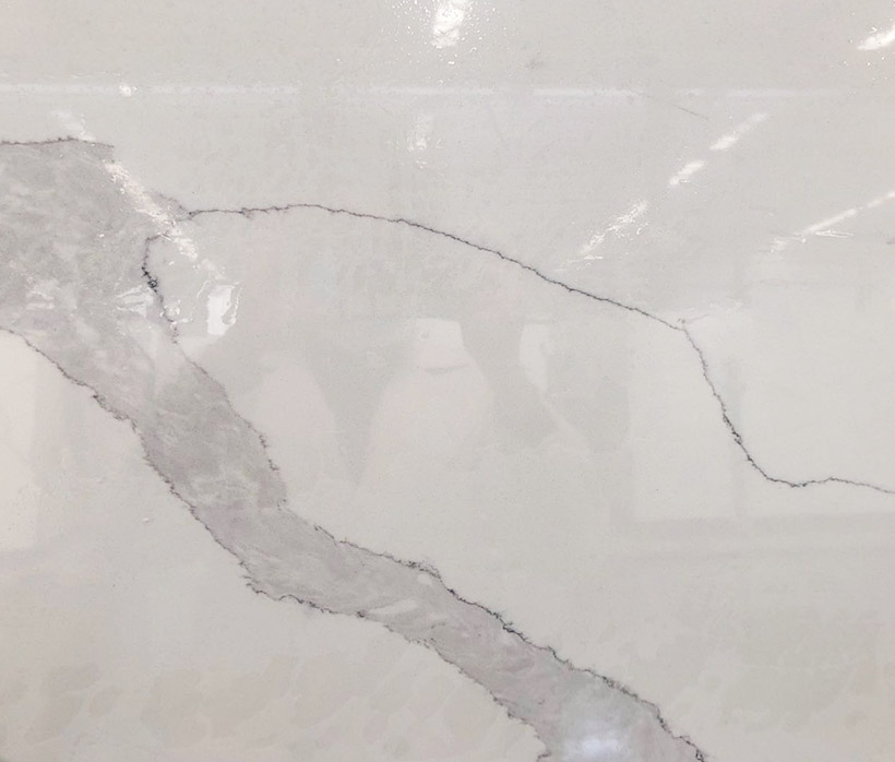 Hot Sale White Calacatta Glass Big Slabs