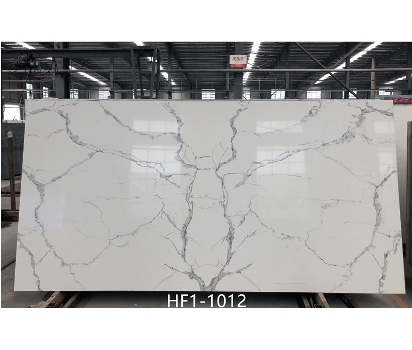 2019 New Customized Calacatta Quartz Countertops