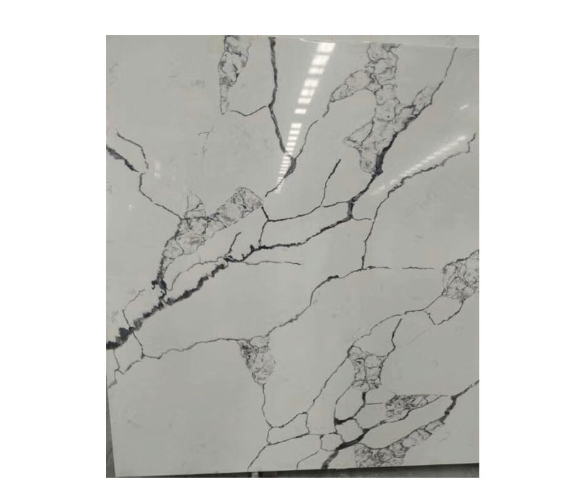 Calacatta Quartz Surfaces Black Veins