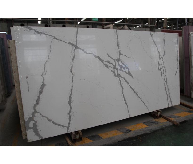 Marble Pattern Calacatta Quartz Stone