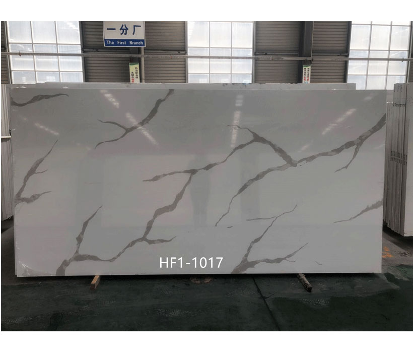 Supplier China Calacatta Quartz Stone Slab