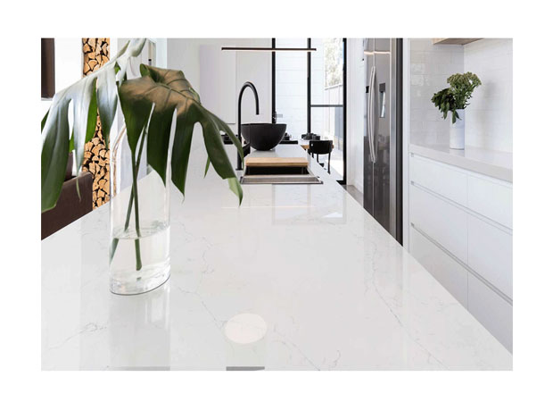 Manufacturer White Calacatta Quartz Surface