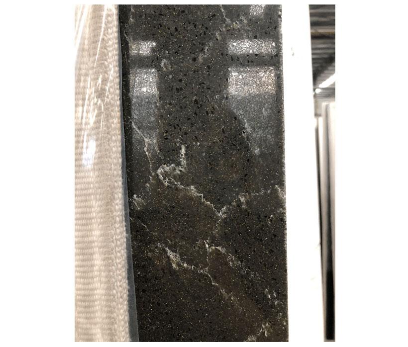 Dark Grey Color Quartz Stone Slabs