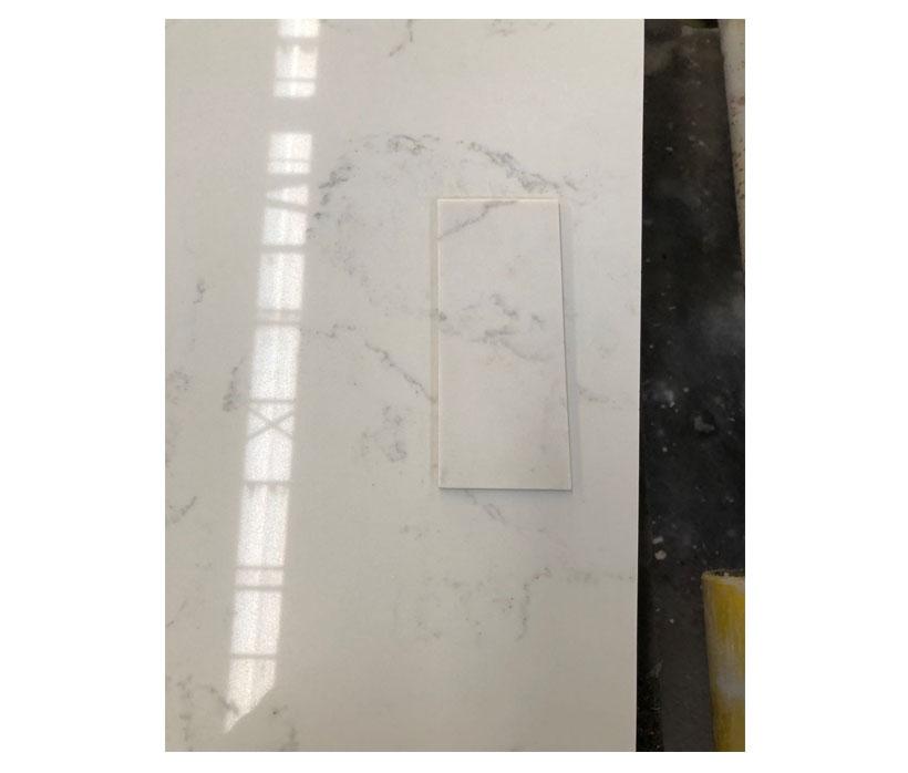 Carrara Marble Like Quartz Slab
