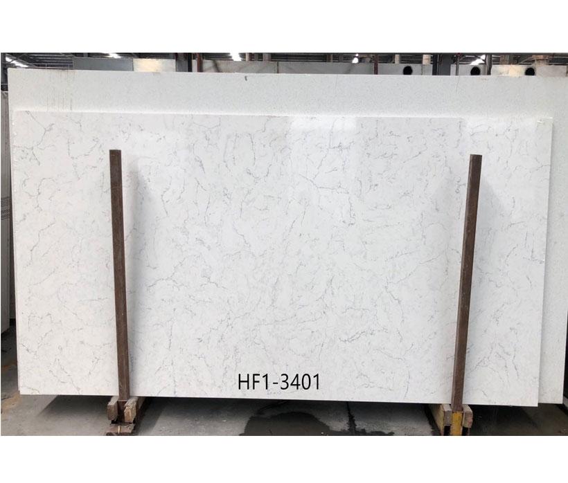 China Carrara Quartz Surfaces