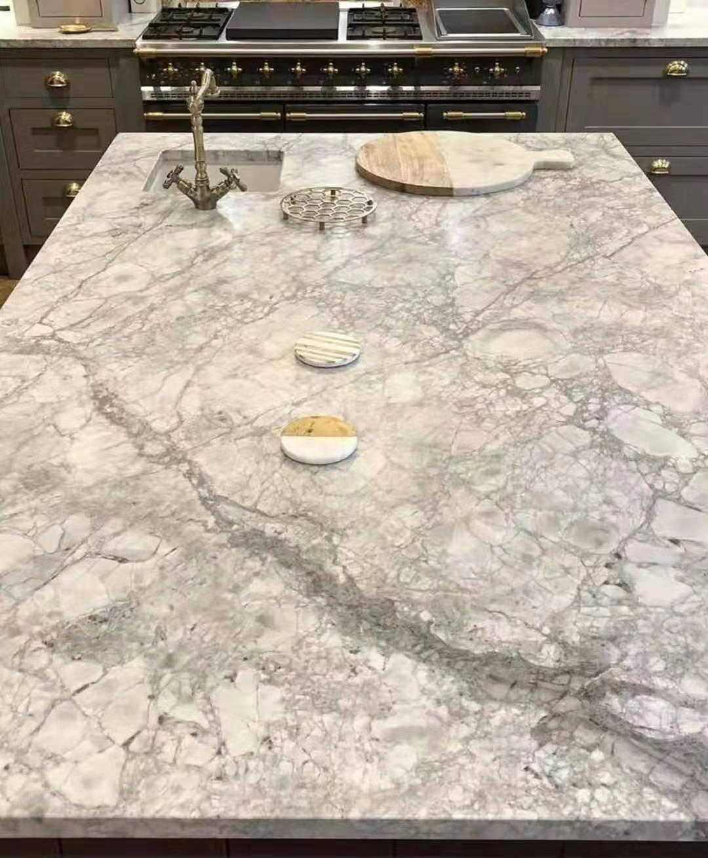 Calacatta Marble Quartz Slabs