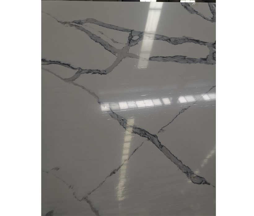 New Designed  Quartz  Calacatta Prairie